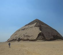 Egypt's 'bent pyramid', a 4,600-year old landmark in ancient construction, opens to visitors