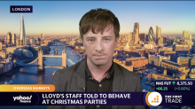 Lloyd's staff told to behave at Christmas parties
