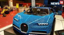 LEGO Technic Lifesize Drivable Bugatti Chiron Model 1st Look Review – Paris Motor Show 2018