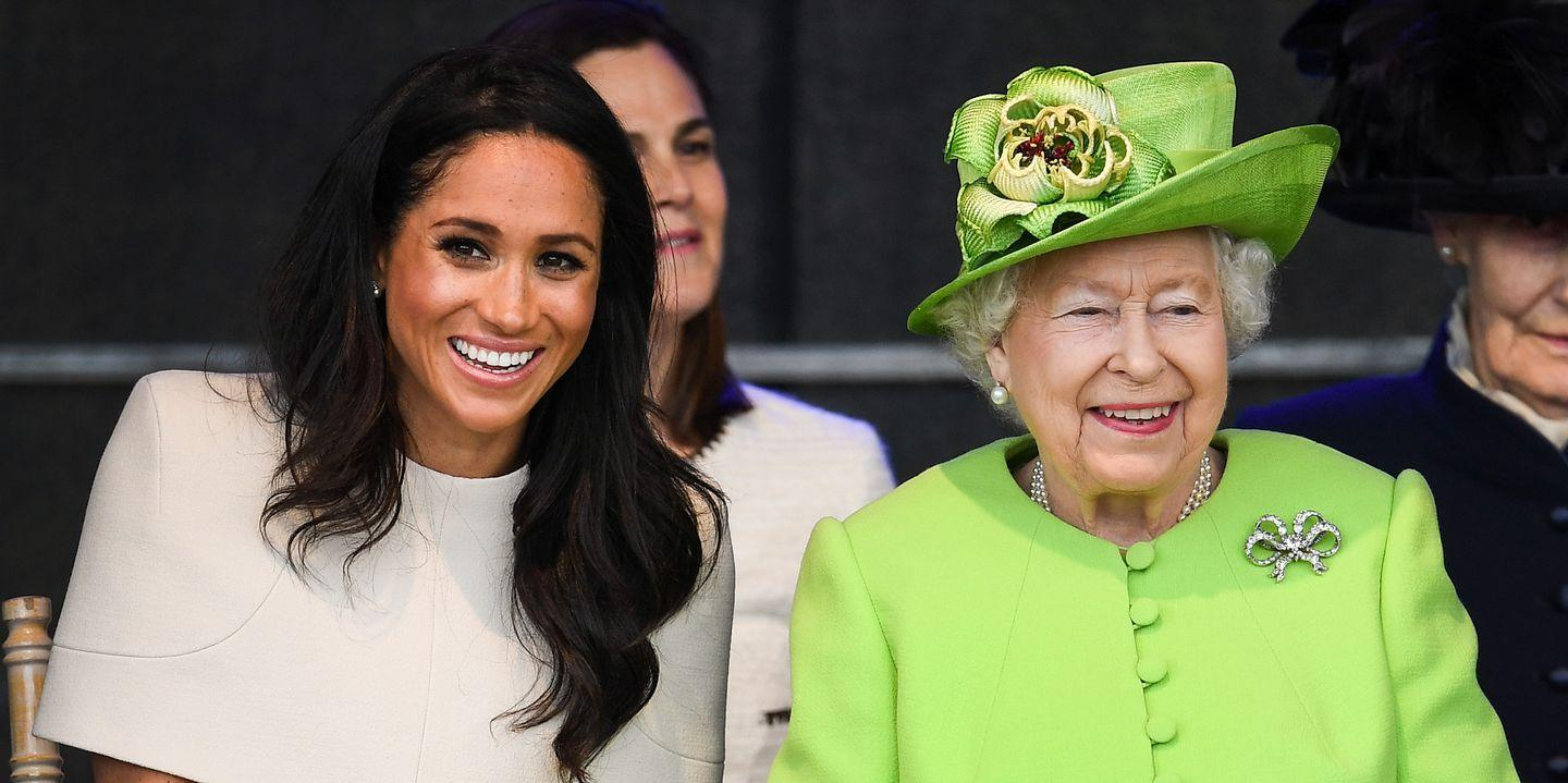 Watch Queen Elizabeths California Wildfires Statement Pays Tribute to Meghan Markles Home State video