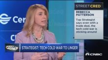 Top strategist says even with a trade deal, a 'tech cold war' could linger