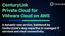 CenturyLink Launches Fully Managed VMware Cloud on AWS Service