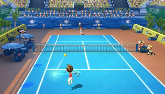 Hands-free: Camera-controlled Racquet Sports