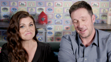 Tiffani Thiessen's husband says she made the first move: 'She leaned in and laid one on me'