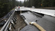 Storm-lashed California roads, dams could cost $1B to fix