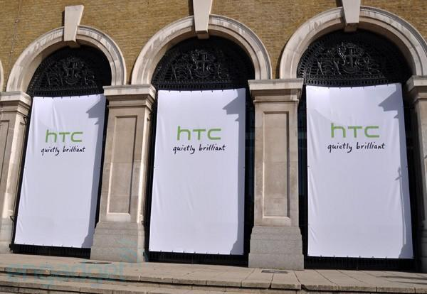 Live from HTC's London 2010 launch event