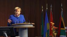 Merkel destaca la importancia de invertir en África para afrontar desafíos globales
