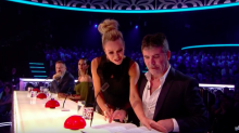 Simon Cowell almost ruins DNA's BGT mind-reading act