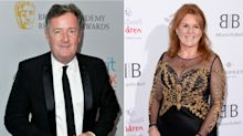 Piers Morgan claims Sarah Ferguson sent supportive text message after Meghan interview row