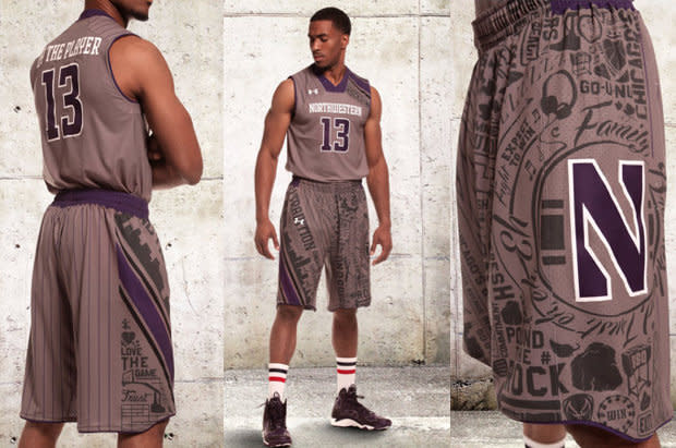 sale retailer b8b94 58041 Northwestern's new 'By the Player' jerseys are unlike ...