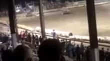 Demolition derby accident kills woman after car flies into crowd
