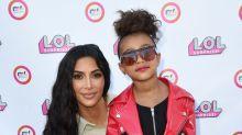 Kim Kardashian West's 5-year-old daughter makes her runway debut