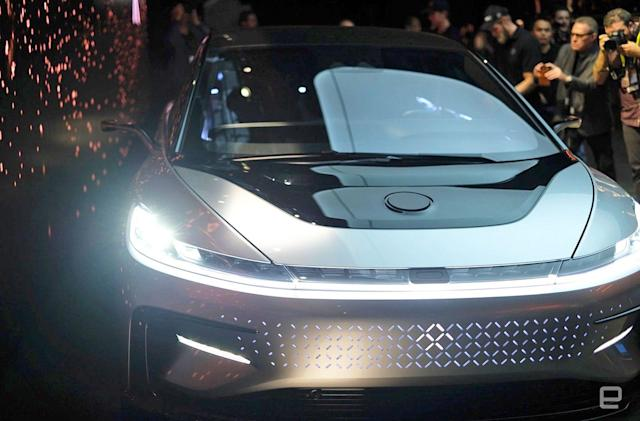 Faraday Future wants out of key financial deal