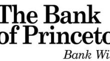 The Bank of Princeton Announces Second Quarter 2021 Results