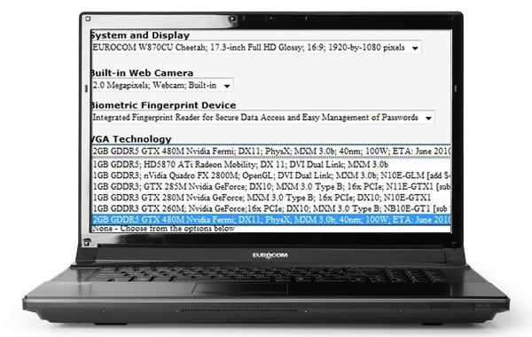 NVIDIA GTX 480M will bring Fermi to laptops this June, crazy power requirements and all