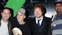 Ed Sheeran and Justin Bieber duet goes straight to number one