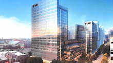 Norfolk Southern seeking prominent signage on new HQ towers