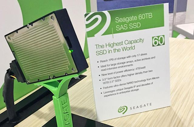 Seagate's new 60TB SSD dwarfs the others on the market