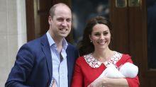 So lustig reagiert das Netz auf den Namen von Herzogin Kates und Prinz Williams drittem Kind