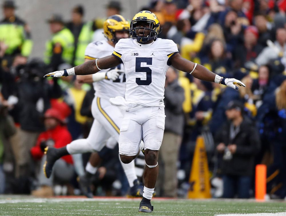 Jabrill Peppers played 933 snaps at 15 different positions this season. (Getty)