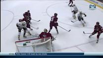 Eric Nystrom scores deflection off chest