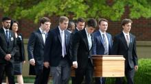 US student jailed by N.Korea laid to rest in Ohio