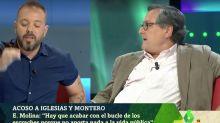"""""""Es para irse"""": Marhuenda se enfada y lanza esta advertencia a Hilario Pino en 'LaSexta Noche'"""