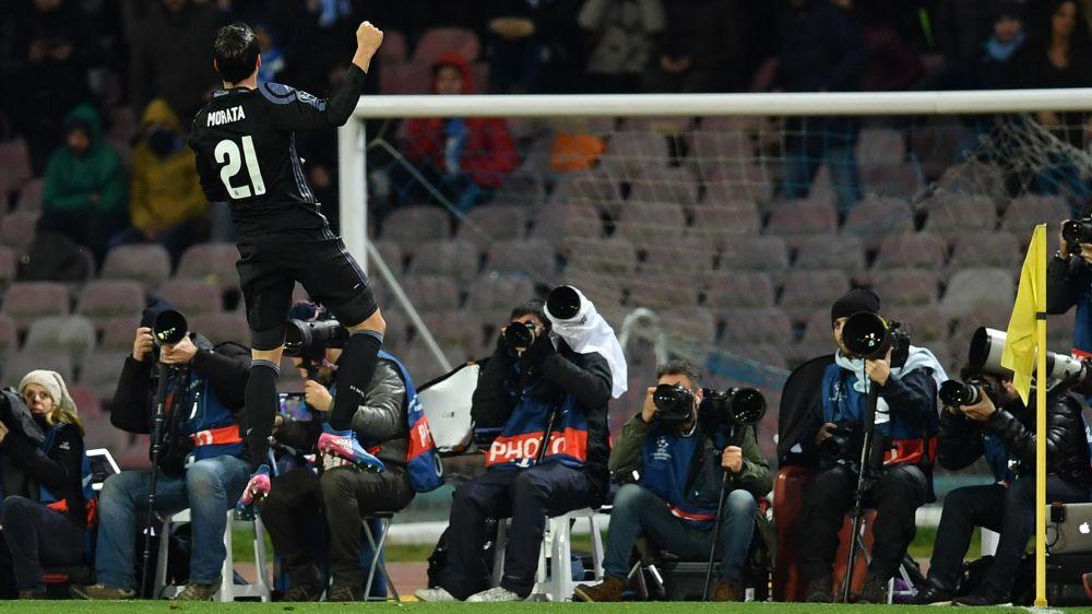 Cristiano Ronaldo e Bale, sem conexão contra o Napoli