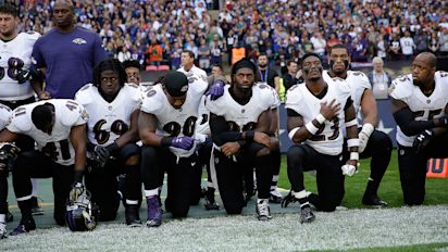 Ravens, Jags begin Week 3 with anthem protest