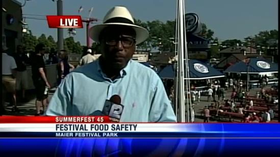 Food inspected for safety at Summerfest