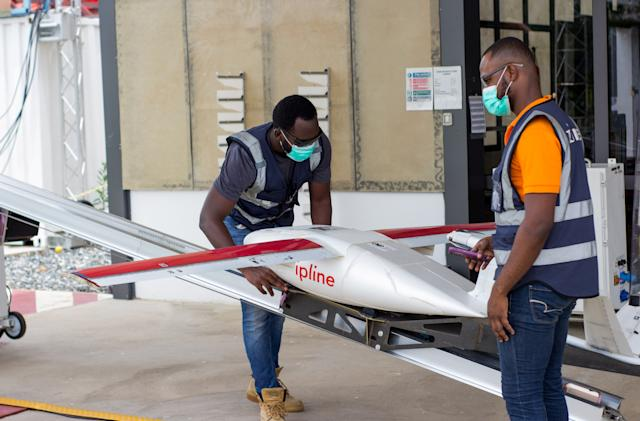 Walmart partners with Zipline for glider drone delivery tests