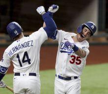 NLCS Game 7: Cody Bellinger dislocates shoulder celebrating go-ahead home run