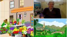 【相集】83歲婆婆「Windows小畫家」創作風景圖 IG超人氣