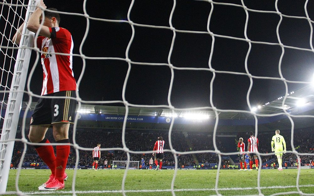 Sunderland are bottom of the Premier League and staring relegation in the face - Rex Features