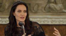 Starstruck students praise Angelina Jolie's first lecture at London School of Economics