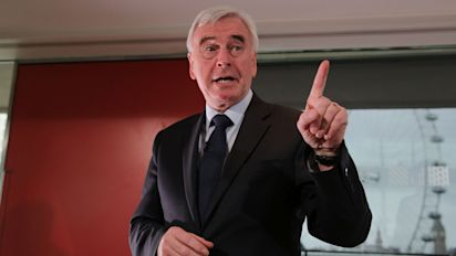 John McDonnell blames Labour's disastrous performance on a 'soft coup' by moderate MPs