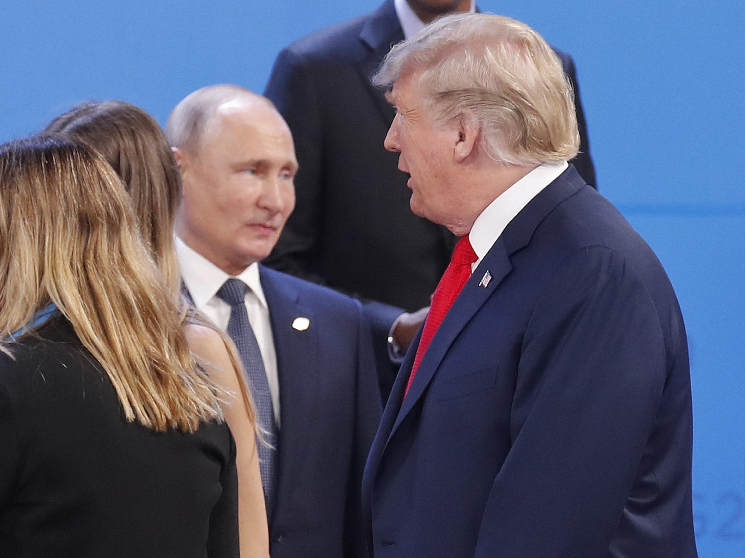 Trump met Putin on sidelines of G20 summit as all members back WTO reform
