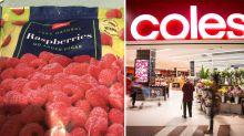 'NOT IDEAL': Woman's horror over dangerous find in Coles berries