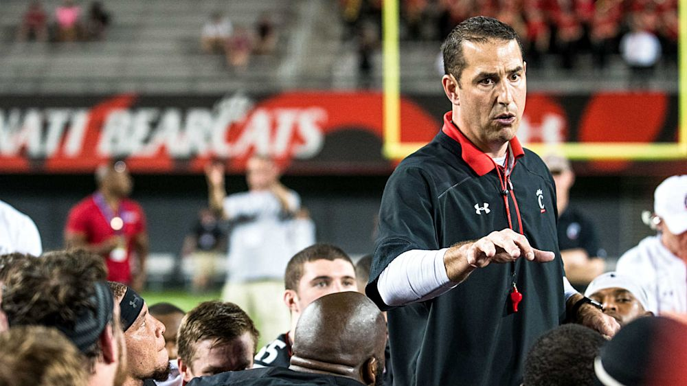 For Luke Fickell and Cincinnati, finding new identity will be no trouble