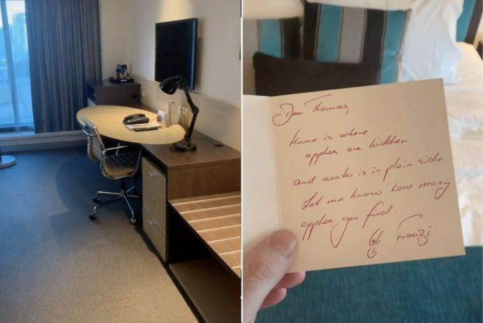 TikToker praises hotel staff over their response to his outlandish check-in request: 'They deserve a raise!' - Yahoo News Canada