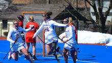 Amputee athlete who thought she'd never play lacrosse again scores a goal in her first game back