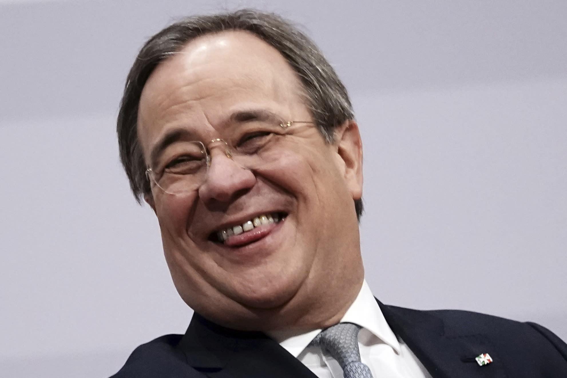 Ballot count confirms Laschet as leader of Merkel's party