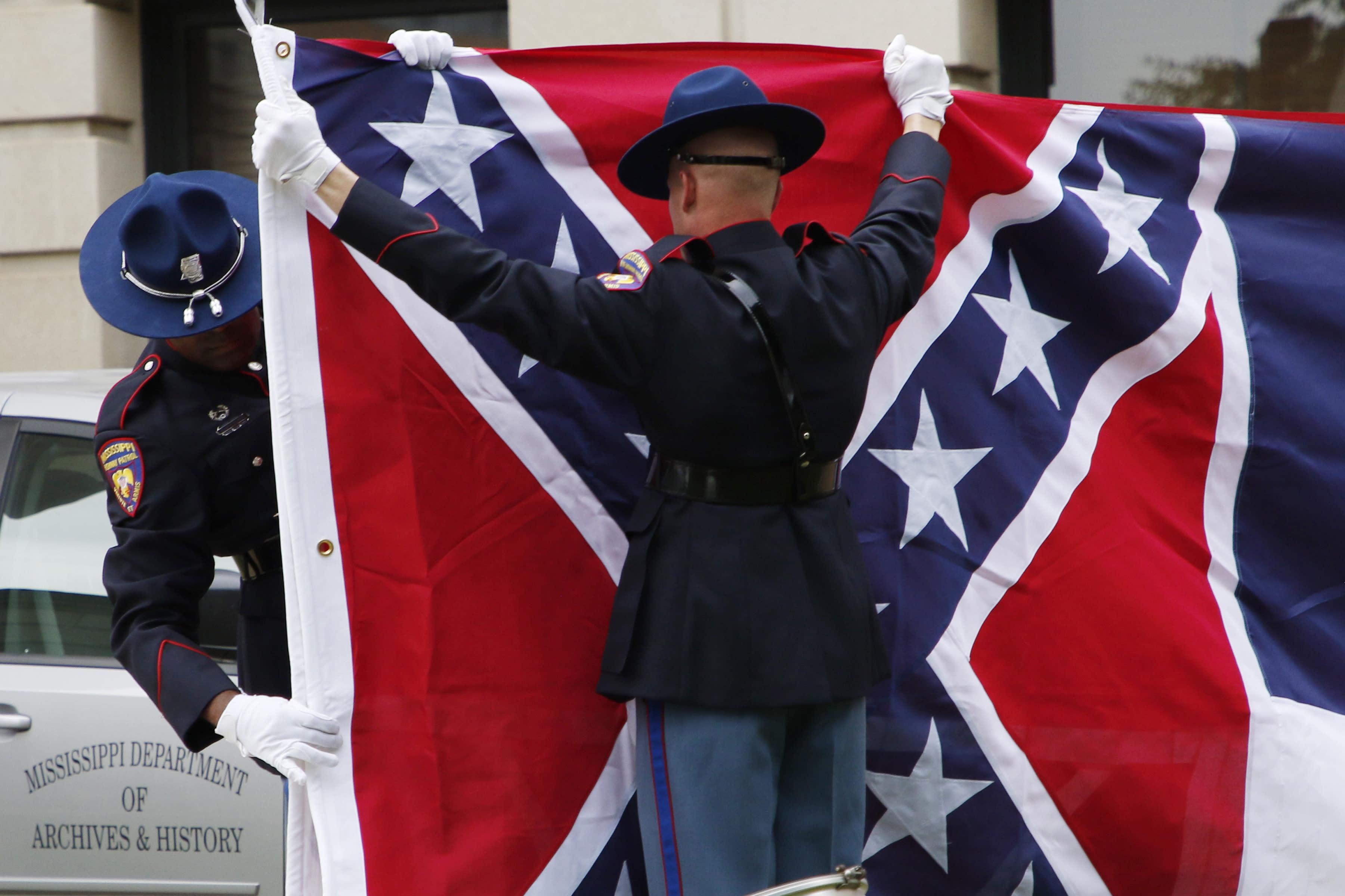 Pentagon Confederate Flag