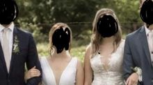 Bride's sister-in-law roasted over 'super tacky' white lace dress