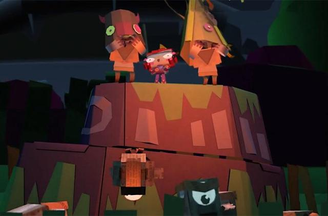 Tearaway Unfolded arrives adorably to PS4 on September 8th