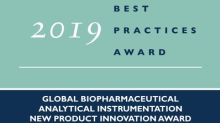 Waters Corporation Lauded by Frost & Sullivan for Developing the First Truly Smart Mass Spectrometer, the BioAccord LC-MS System