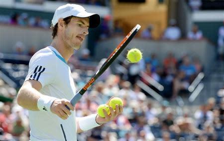 Tennis: BNP Paribas Open-Raonic v Murray