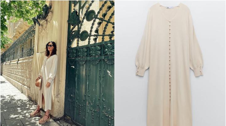 Sara Carbonero posa en Instagram con un vestido de Zara y a las 12 horas se agota
