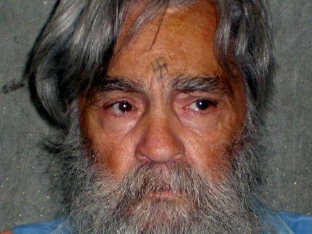 File Photo: Handout photo of convicted murderer Charles Manson