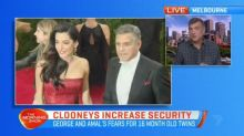 Clooney couple ramp up security
